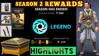 Shadow Fight 3》LEGEND SEASON 2 REWARDS |LEGENDARY CHEST