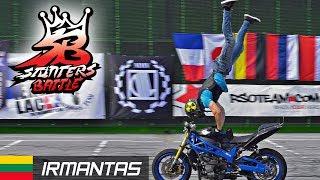 Download Athletic Stunt Riding by Irmantas - Stunters Battle 2017 3Gp Mp4