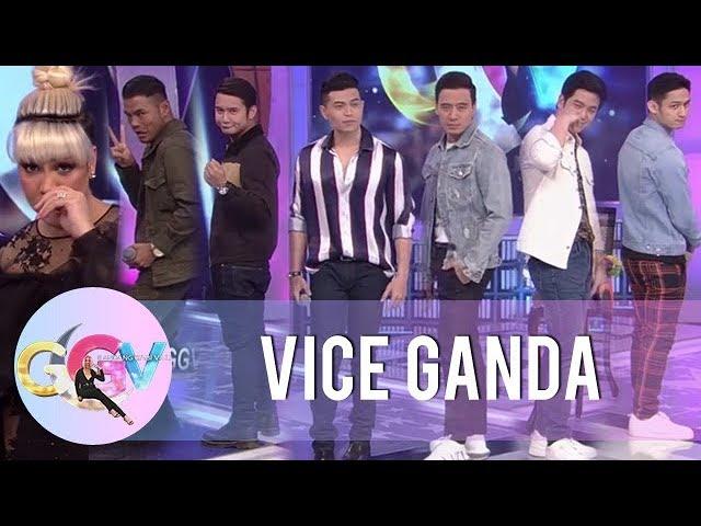 Vice, Bugoy, Daryl, Michael, Erik, JM, and Joshua do the Binatang Pilipino challenge | GGV