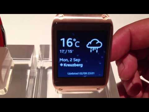 Reseña de Samsung Galaxy Gear: el reloj inteligente
