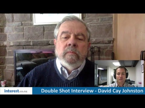 Double Shot Interview with David Cay Johnston, January 2018