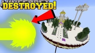 Minecraft: BLAST THAT DESTROYS EVERYTHING!!! - Dragon Ball Z - Custom Map [3]