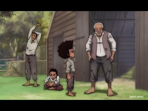 The Boondocks Season 3  Episode 1  It's A Black President, Huey Freeman video