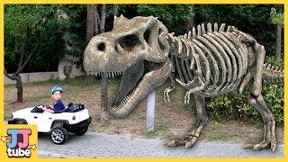 [120분 연속보기] 베스트 장난감 상황극 모아보기 뼈다귀 공룡 서프라이즈에그 낚시 타요 폴리 [제이제이 튜브- JJ tube]