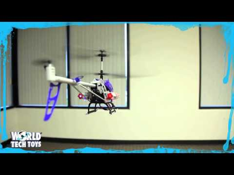 Arrow Missile Hawk RC Helicopter from World Tech Toys