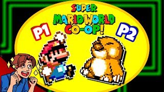 ACTUAL MARIO CO-OP! [w/ Miss Editor] | Super Mario World Co-Op Quest 2 #8 | ProJared Plays