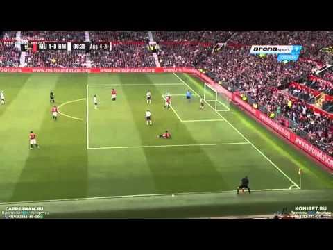 Louis Saha Goal ~ Manchester United vs Bayern Munich 4-2 Legends Match 2015 HD