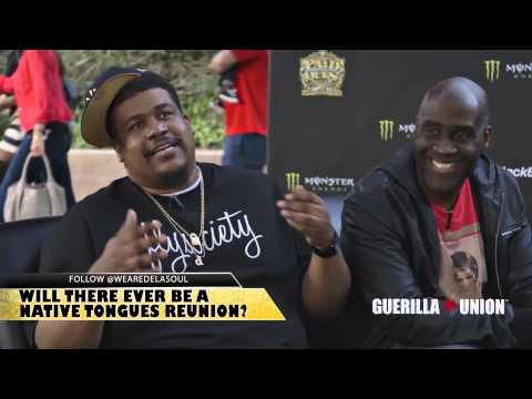 De La Soul Interview - Talks Native Tongues Reunion, Murs & Fashawn at Paid Dues 2013