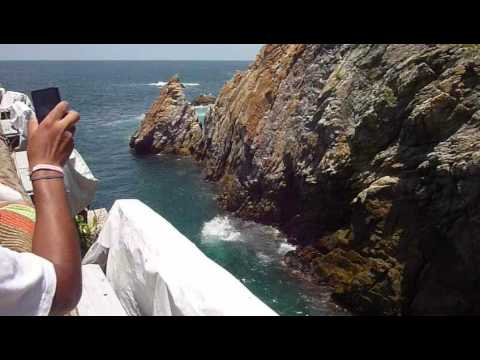 Cliff Divers of La Quebrada, Acapulco