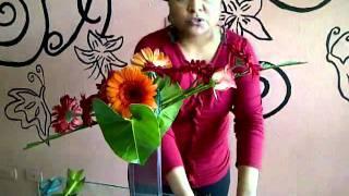 Curso arreglos florales - Flores, Pétalos & Detalles