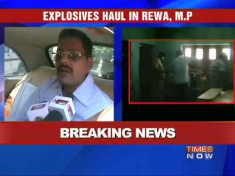Explosives recovered from Rewa, MP