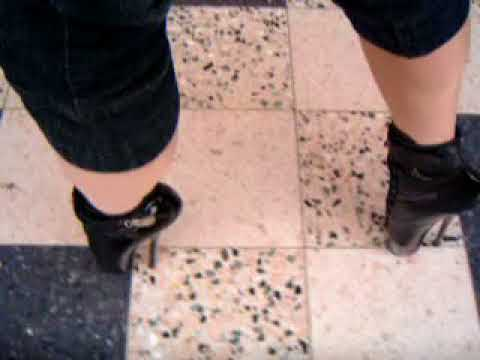 fast walking in ballet boots