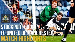 Stockport County Vs FC United Of Manchester - Match Highlights - 04.11.17