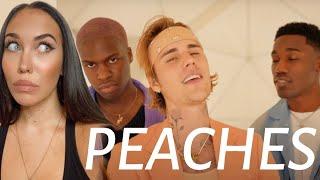 Download lagu FEMALE DJ REACTS TO Justin Bieber - Peaches ft. Daniel Caesar, Giveon (REACTION)