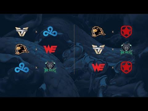 Campeonato Mundial de League of Legends 2017 -  Play-In - Fase de Grupos - Día 2