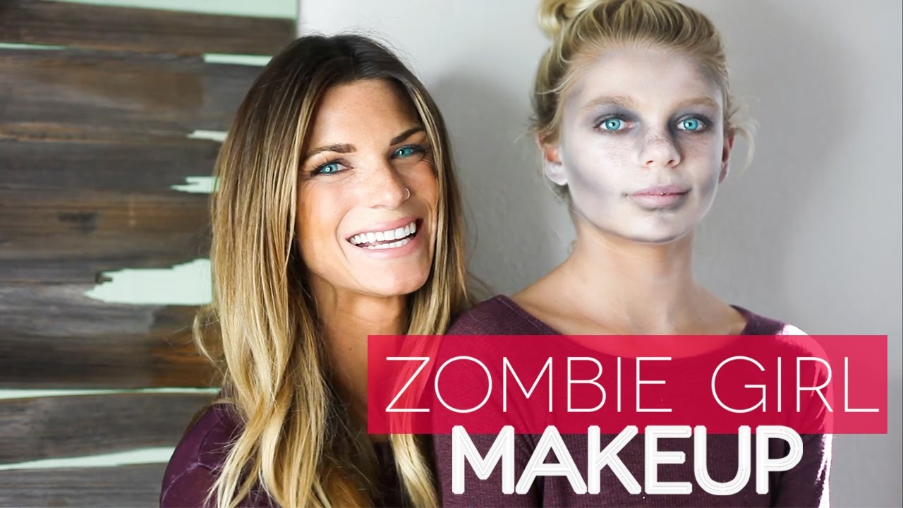 Zombie makeup tutorial for kids