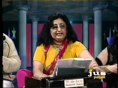 Anuradha Khanna Bhajans In Jus Punjabi Channel video