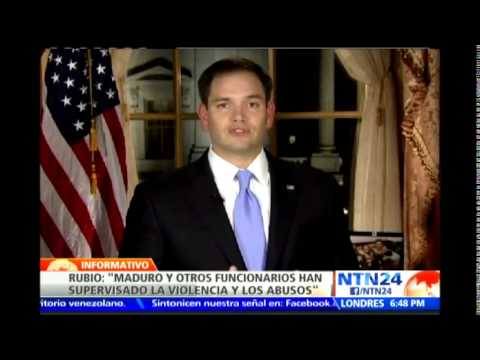 Marco Rubio urge poner un freno a violación de DD.HH. en Venezuela...