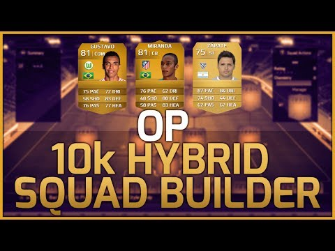 FIFA 14 Ultimate Team   Cheap 10K OVERPOWERED Hybrid Squad Builder!!   WIN GAMES!