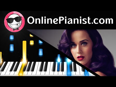 Katy Perry - Birthday Piano Tutorial & Sheets (Easy Version)