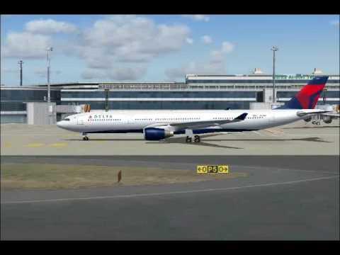 Delta Air Lines Airbus A330-300 (FS2004)