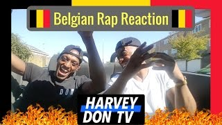 Belgian Music Reaction ft Damso, Soufiane Eddyani, and Jones Cruipy