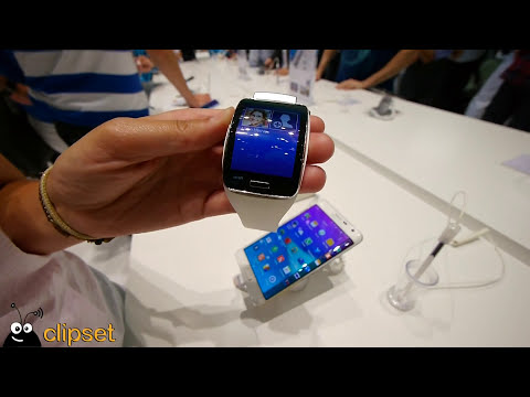 Samsung Gear S preview IFA Videorama