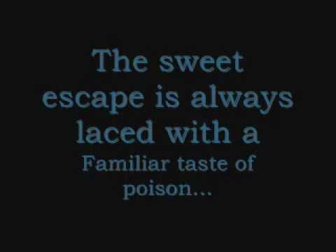 Halestorm- Familiar Taste of Poison LYRICS