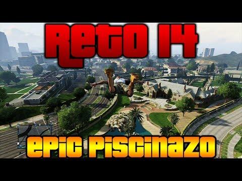 RETO 14 - EPIC PISCINAZO!!! - Desafios en GTA Online - Makiman