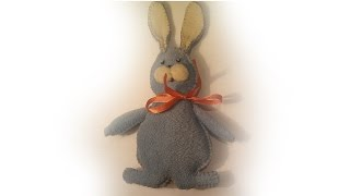 DIY Rabbit (hare) Soft toy + pattern