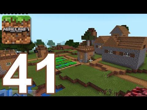 Minecraft: Pocket Edition - Gameplay Walkthrough Part 41 - Survival (iOS, Android)