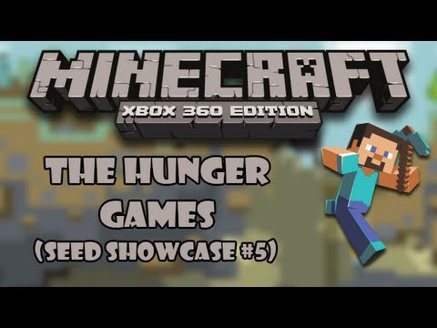 The Hunger Games - Minecraft (Xbox 360) 1.8.2 Seed Showcase #5