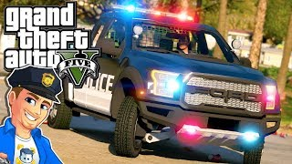 GTA 5 LSPDFR Ford F150 Police Interceptor | GTA 5 Realistic Police Mod