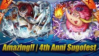 (Amazing Pulls!!) 4th Anniversary Global Sugofest | One Piece Treasure Cruise
