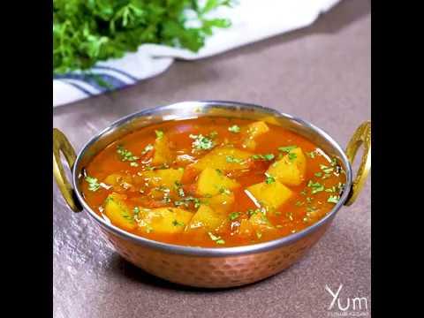 Aloo Curry | Aloo Curry Recipe | How to Make Aloo Curry