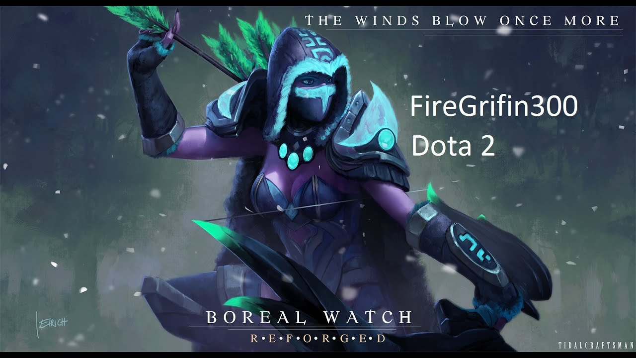 Witch Hunter Set Dota 2 Dota 2 Boreal Watch Set