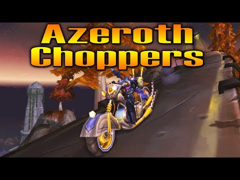 AZEROTH CHOPPERS !!! American Chopper Meets World of Warcraft