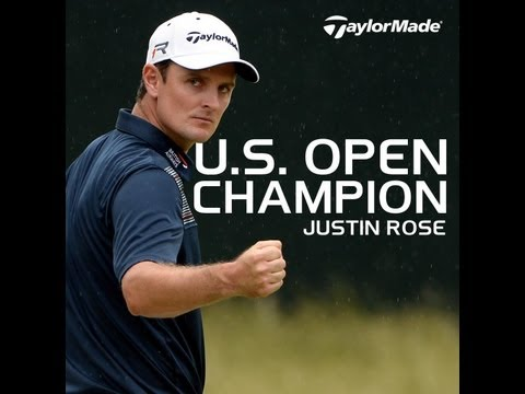 Justin Rose campe�n del U.S Open 2013 | Justin Rose wins the U.S Open at Merion Golf Club