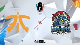 Six Invitational 2019 – Playoffs - Day Four - Fnatic vs. Nora-Rengo