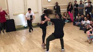 William Teixeira and Paloma Alves Brazilian Zouk Demo Denver Zouk Congress 2018