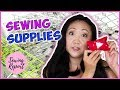 Sewing Supplies to Make Life Easier! ✂️ Must-Have Tools + Notions for Beginners | SEWING REPORT