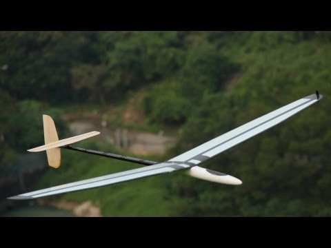 HobbyKing Product Video - Versus Composite DLG 1500mm Glider Kit