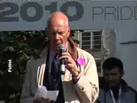 SRSG in Serbia speaking at the Belgrade Pride 2010