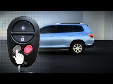 Keyless Entry (remote) Highlander Toyota of Slidell