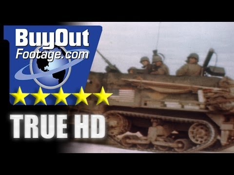 HD Stock Footage WWII Color - At The Front in North Africa - Algeria - Tunisia - Tebourba
