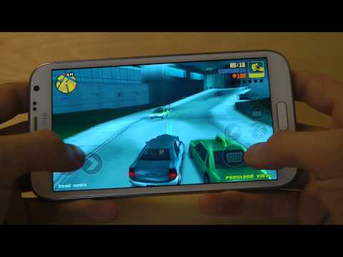 GTA 3 For Samsung Galaxy Note 2 - First Gameplay Hands-On R