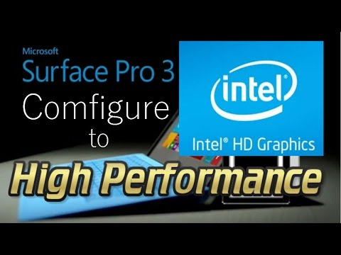 Configure your intel hd graphics on high performance for gaming