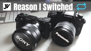 Why I switched from Panasonic to Sony - G85 a6500