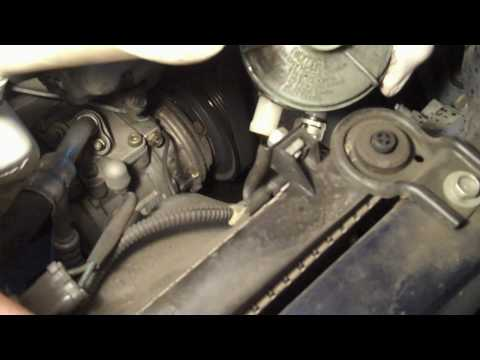 Tutorial: Power steering fluid change on 2002 Honda Accord
