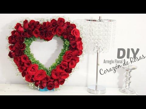 DIY Arreglo Floral con flores Naturales
